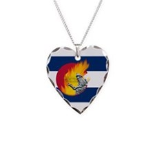 Black Forest Fire, Colorado Springs Necklace