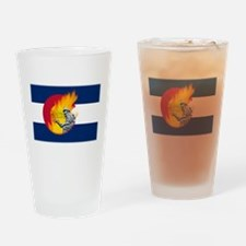 Black Forest Fire, Colorado Springs Drinking Glass