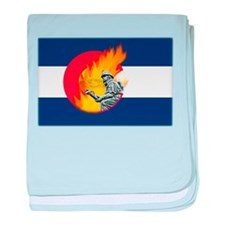 Black Forest Fire, Colorado Springs baby blanket