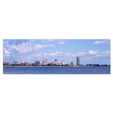 Cityscape, Buffalo, New York State Poster
