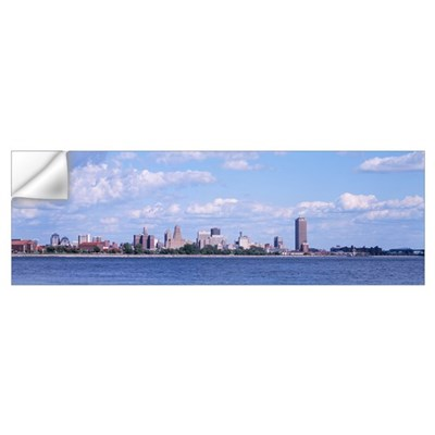 Cityscape, Buffalo, New York State Wall Decal