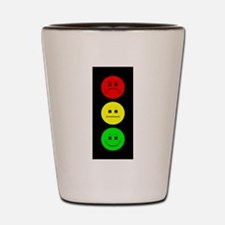 Moody Stoplight Shot Glass