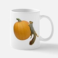 Squirrel Rolling Pumpkin Mug
