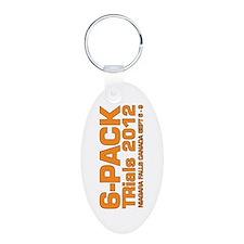 Aluminum Oval Keychain - TR250