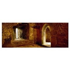Interiors of a castle, Blarney Castle, Blarney, Co Framed Print