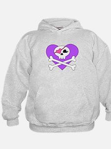 Cute Skull and Crossbones Hoodie