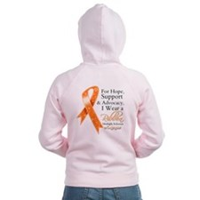 Hope Support Multiple Sclerosis Zip Hoody