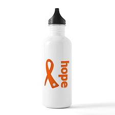 Hope Ribbon Multiple Sclerosis Sports Water Bottle