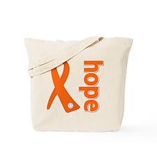Hope Ribbon Multiple Sclerosis Tote Bag