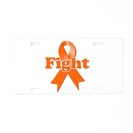 Fight Multiple Sclerosis Aluminum License Plate