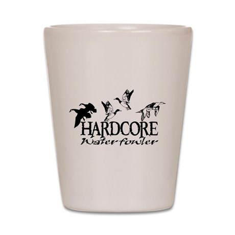 DUCK AND GOOSE HUNTING Shot Glass