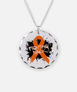Fighting Back Multiple Sclerosis Necklace Circle C