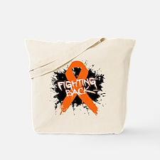 Fighting Back Multiple Sclerosis Tote Bag