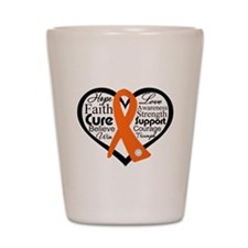 Hope Multiple Sclerosis Shot Glass