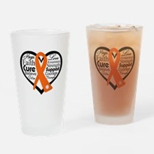 Hope Multiple Sclerosis Drinking Glass