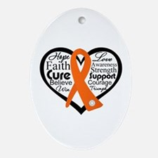 Hope Multiple Sclerosis Ornament (Oval)