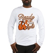Ready Fight Multiple Sclerosis Long Sleeve T-Shirt
