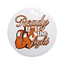 Ready Fight Multiple Sclerosis Ornament (Round)