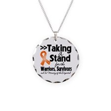 Stand Multiple Sclerosis Necklace Circle Charm