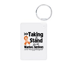 Stand Multiple Sclerosis Aluminum Photo Keychain