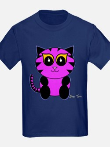 Purple Kitty T