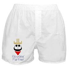 Howdee' Part'ner Cowboy Boxer Shorts
