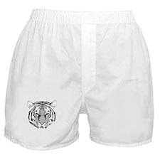 White Tiger Boxer Shorts