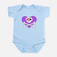 Cute Skull and Crossbones Infant Bodysuit