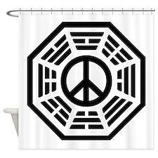 Dharma Peace Shower Curtain