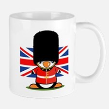 British Soldier Penguin Mug