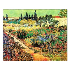 Flowering Garden with Path Posters