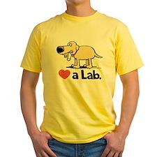 love a lab-yw T-Shirt