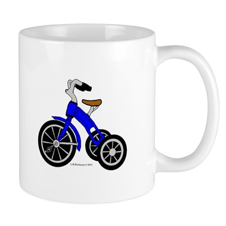 Blue Tricycle Mug