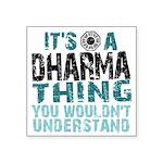 Dharma Thing Square Sticker 3