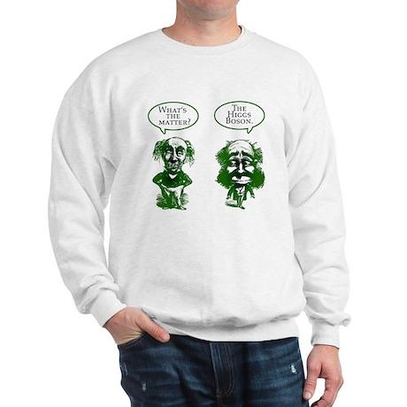 Higgs Boson Humor Sweatshirt