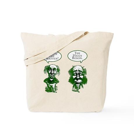 Higgs Boson Humor Tote Bag