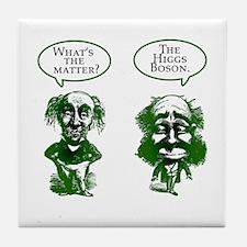 Higgs Boson Humor Tile Coaster
