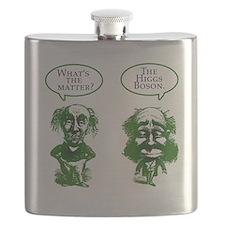 Higgs Boson Humor Flask