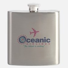 Oceanic Airlines Flask