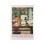 Goldilocks Rectangle Magnet (10 pack)