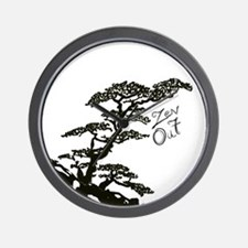 Zen Tree (Zen Out) Wall Clock