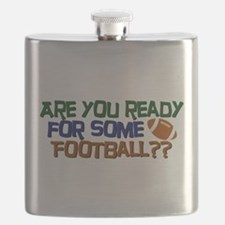 Football Season Flask