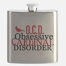 Funny Cardinal Flask