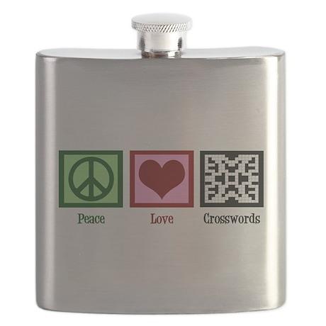 Peace Love Crosswords Flask
