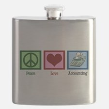 Peace Love Accounting Flask