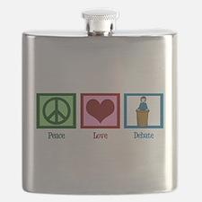 Peace Love Debate Flask