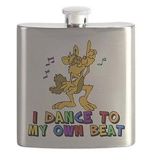 Dancing Cat Flask