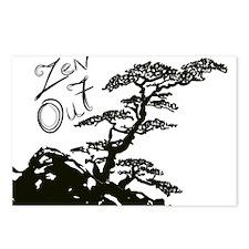 Zen Tree (Zen Out) Postcards (Package of 8)