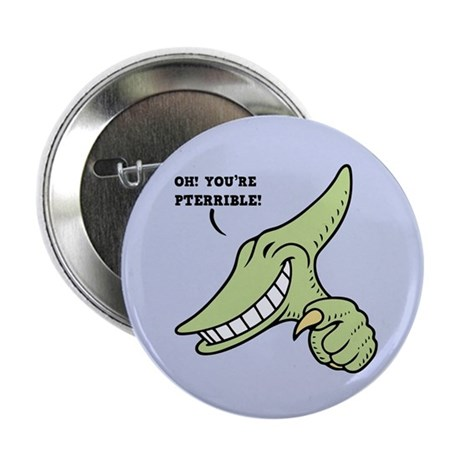 "Pterribledactyl 2.25"" Button (100 pack)"