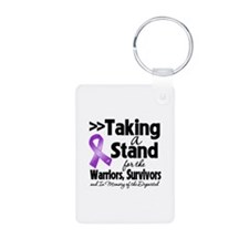 Stand Cystic Fibrosis Keychains